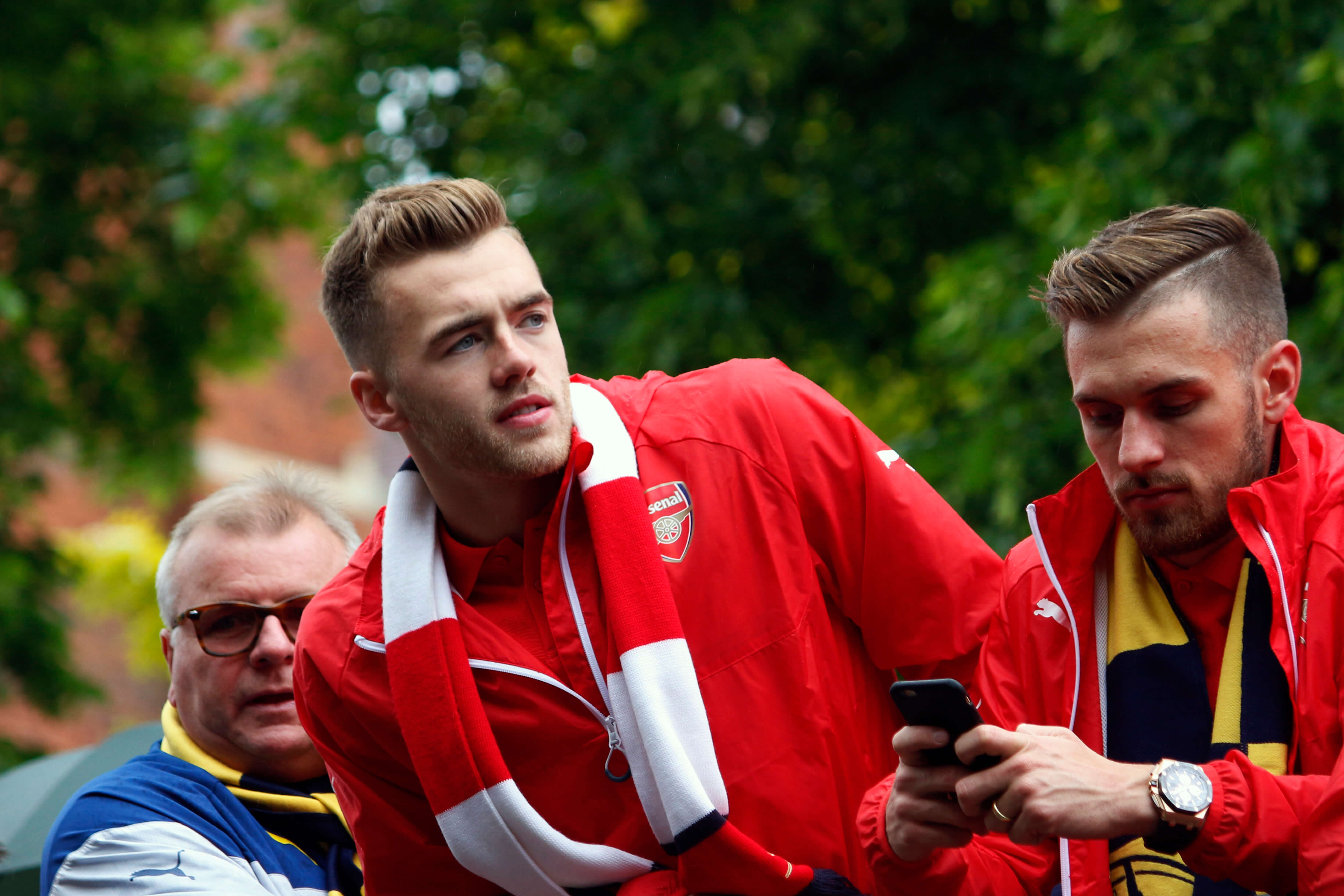 Image result for calum chambers fulham 2019 arsenal