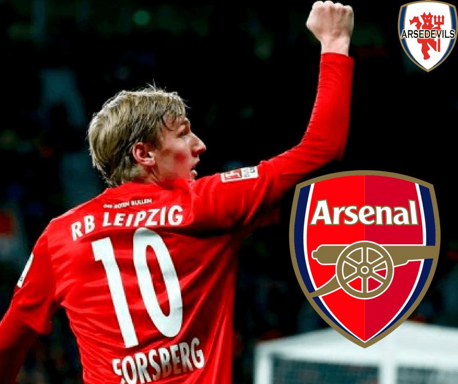Emil Forsberg, Arsenal, Arsedevils, Arsenal Emil Forsberg, Forsberg