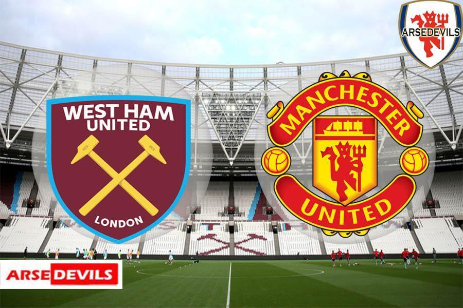 West Ham, West Ham Vs Manchester United