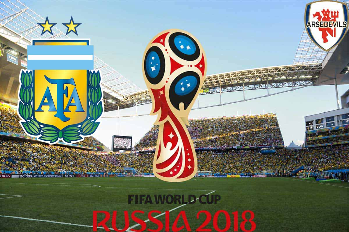Argentina, FIFA World Cup 2018, Russia