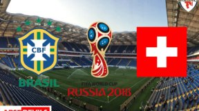 Brazil Vs Switzerland, FIFA World Cup 2018, Russia