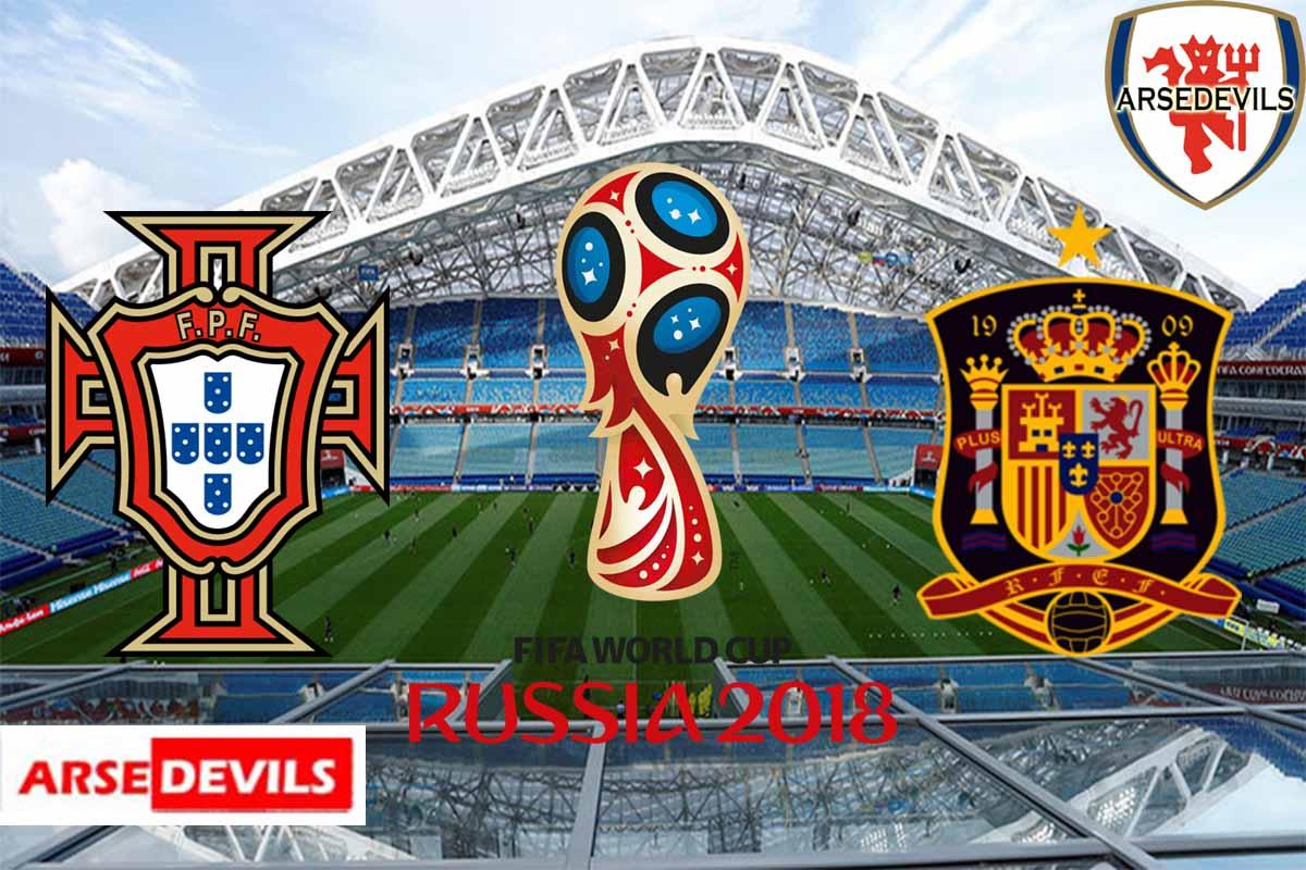 Portugal Vs Spain, FIFA World Cup 2018, Russia, Spain, Portugal