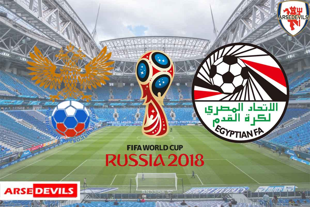 Russia Vs Egypt, FIFA World Cup 2018, Russia, Mohamed Salah