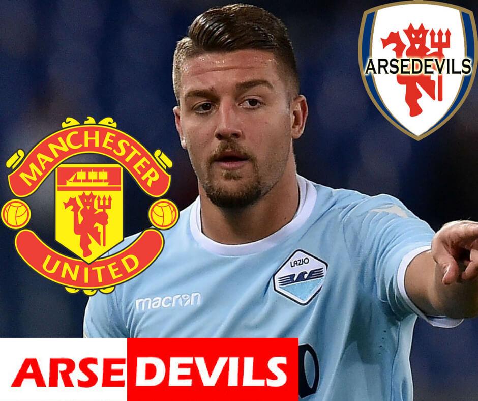 Sergej Milinkovic-Savic to United, Sergej Milinkovic-Savic drops social media hint, Sergej Milinkovic-Savic from lazio to manchester united