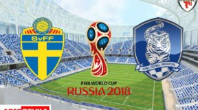 Sweden vs South Korea, sweden south korea team line up