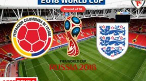 Colombia Vs England, FIFA World Cup 2018, Russia