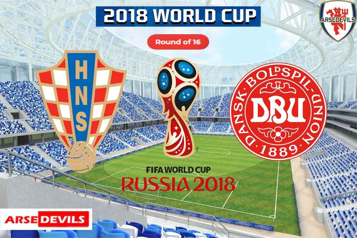 Croatia Vs Denmark, FIFA World Cup 2018, Russia