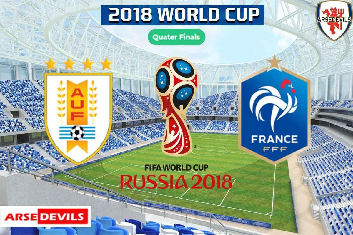 Uruguay Vs France, FIFA World Cup 2018, Russia