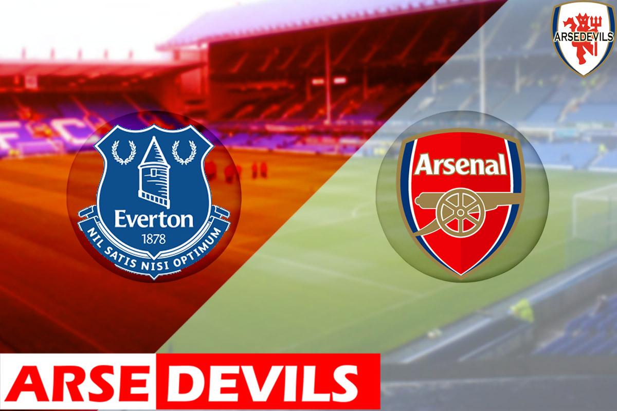 Arsenal vs Everton Archives – Arsedevils